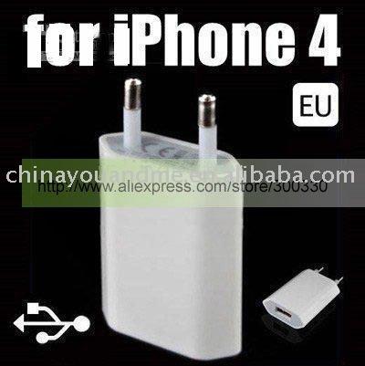 30pcs/lot usb 2.0 mini adapter , Wall Charger For iphone 4G 3GS 3G, USA / EU plug or US plug(China (Mainland))