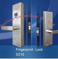 Free shipping  fingerprint lock good quality 3pcs/lot