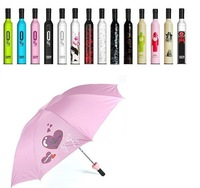20pcs Free Shipping wine bottle umbrella