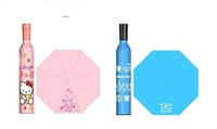 1pcs Free Shipping wine bottle umbrella