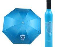 2pcs Free Shipping wine bottle umbrella