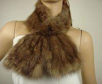 Free shipping/wholesale/Retail Fashion style 100%sable fur scarf