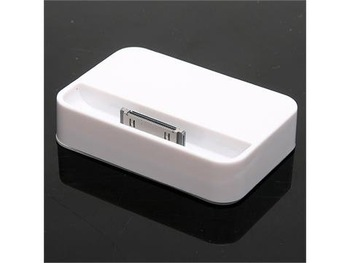 10pcs/lot Dock Cradle Sync Charger Station for Apple IPHONE 4 4G & free shipping