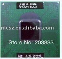 wholesale and retail Intel CPU T5870 SLAZR 2.0GHz 2M 800MHz laptop processor