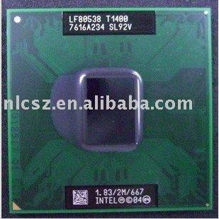 Intel CPU T1400 SL9V2 1.83MHz 2M 667MHz laptop