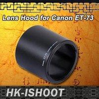 Good!! iShoot ET 73 Lens Hood case For Canon EF100/2.8L IS USM Macro ET-73