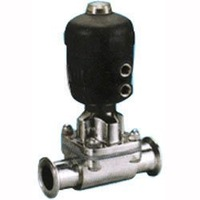 Stainless Steel SS 316L Sanitary Pneumatic Diaphragm Valve 1.5""