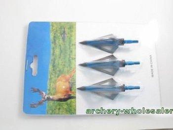 New aftershock maniac hunting arrow broadheads 100GR 3-blades,free shipping 102pcs/lot