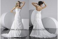 Free shipping good fashion bride wedding dress/good wedding dress/party dress/new wedding dress