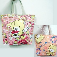 Free Shipping Cute Bears Bear Cartoon Anime Shopping Shouder bag Carry Tote Bag Handbags