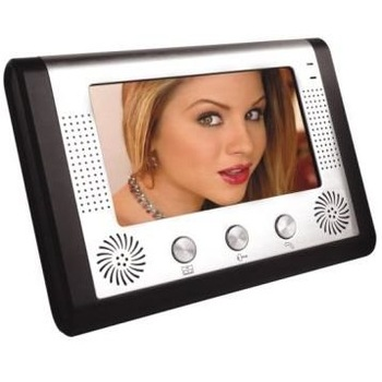 Free shipping One year warranty  7 inch Color LCD Camera video door phone intercom entry security 1 to 1 N to N