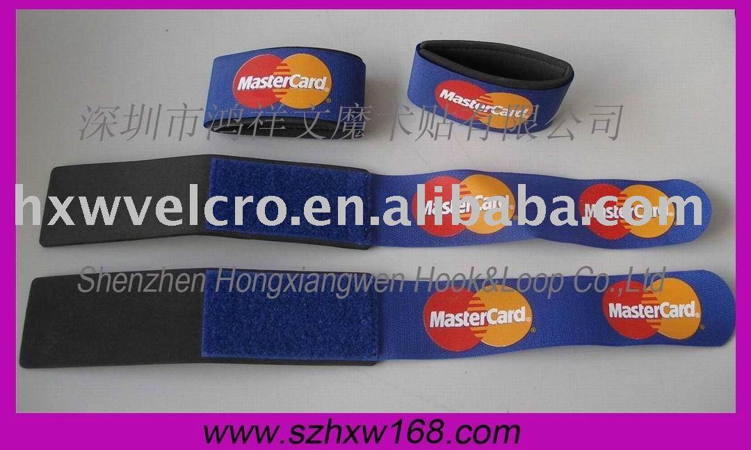 50X450mm Free Shipping High Quality Velcro Ski Binding + 3 color custom logo(China (Mainland))