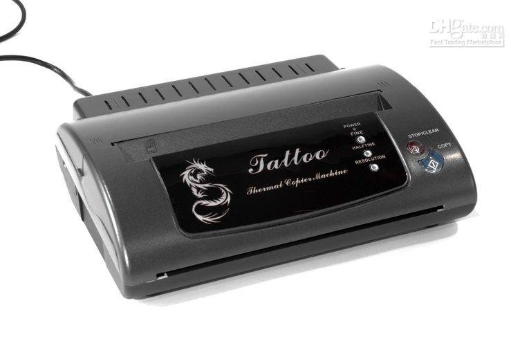 Maker Transfer Machine new brand new arrival New Tattoo Flash Copier Stencil(China (Mainland))