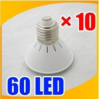 10PCS NEW 60 LED E27 110V 220V  Light Bulb lots