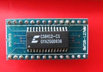 CS8412,CS8412-CS,CS8412-CP, Soldered on SOIC-28 to DIP-28 Adapter(China (Mainland))