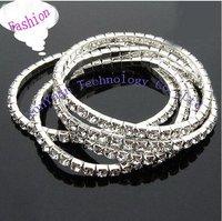 Free shipping  Fashion Diamond Stretch Bracelet / Flash bracelet 500pcs/lot