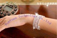 Free shipping  Fashion Diamond Stretch Bracelet / Flash bracelet 10pcs/lot