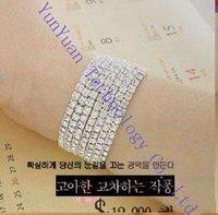 Free shipping  Fashion Diamond Stretch Bracelet / Flash bracelet 30pcs/lot