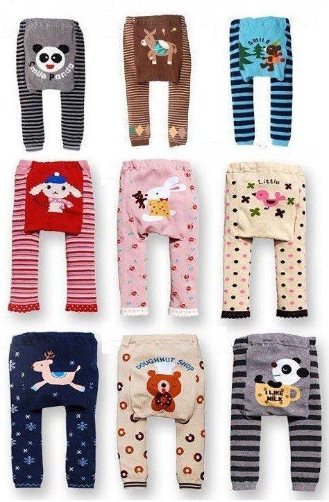 Wholesale sweet kids Leggings toddler Tights pants Baby leg warmer babys PP Pants