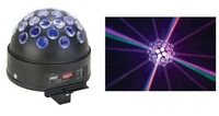 LED Crystal Ball;D9009 1pcs 9W three in one full-color LED(R3W,G3W,B3W);DMX512 signal control