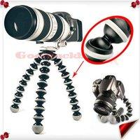 Free shipping+10pcs/lot NEW Flexible Ball Leg big Tripod for ALL SLR cameras