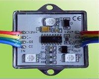 20pcs/string waterproof led pixel module,3pcs SMD RGB 5050,1pcs LPD6803,32 gray level,DC12V,0.72W