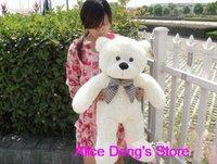 80cm White Animal Teddy Bear Toys 1 piece+Gift&Free Shipping