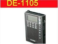 Degen DE1105 PLL Digital FM-Stereo / AM / Shortwave Dual Conversion Pocket World Band Radio Receiver
