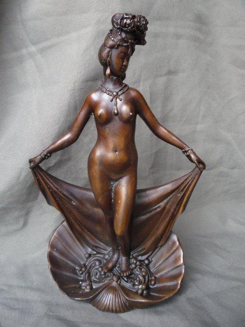 Coleções estátua velha chinesa da liberdade da estátua de bronze Oriental grátis frete(China (Mainland))