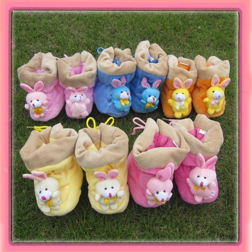 Wholesale velvet Baby Shoes, infant baby Boots can mix order(China (Mainland))