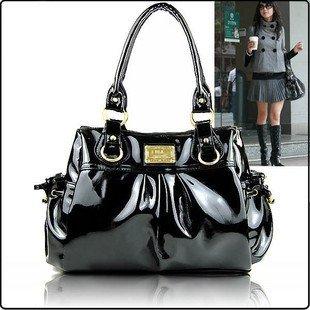 Fashion PU Leather Handbag 1pc Free Shipping