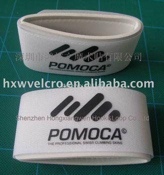 Free Shipping+Guaranteed 100%+ Free 1 color Custom LOGO Nylon Velcro Ski Band