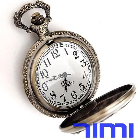 Карманные часы на цепочке 2010 freeship T377