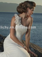 sell ocean wedding dresses in free shipping accept   ly0586