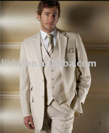 Mens Clothing Suit, Brand Men Suit, Off White Men Suit, Two Button Men Suit MS0113(China (Mainland))