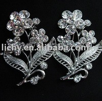 New style alloy costume brooch,attractive brooch,costume brooch,flower brooch,crystal brooch,fashion brooch,alloy brooch,lyc1883