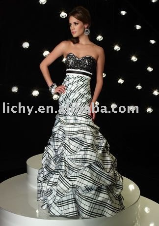 2010 new style and design dance costume,night clothes,evening wear,party evening dress,evening prom dress,accept ,lyc459(China (Mainland))