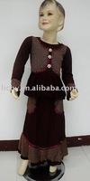 pretty children muslim abaya,muslim clothes,muslim woman dress,lyd1041