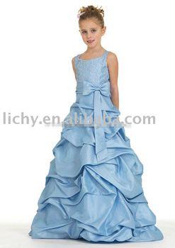 2010 Fashion Flower Girl Dress ,  Flower Girl Dress For Wedding Dress , Flower Girl Dresses lya8540