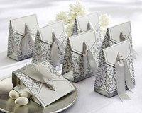 GAGA ! SILLVER LIFE Free shipping 250pcs/lot paper box wedding gift box packaging box XTH-029(sillver)
