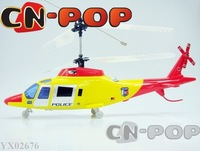 New 4CH RC helicopter more stable flight radio remote control helicopters big copter toy 9pcs/lot