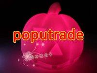 Wholesale Halloween Colorful LED light Pumpkin 100pcs/lot