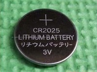 100pcs per lot CR2025 DL2025 CR 2025 Lithium Cell Button Battery