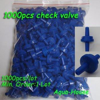 Wholesale 1000pcs Aquarium Plastic Non-Return Check Valve for Air Pump&CO2 Diffuser