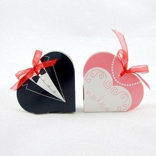 GAGA ! 7.2*6*1.6(CM)  Free shipping 250pcs/lot BRIDE GROOM WEDDING BOX  gift box sweet box meiguixinyu30