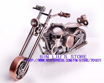 New arrival Hand Crafted metal crafts home decoration classic motorcycle model new design Free shipping MT1008