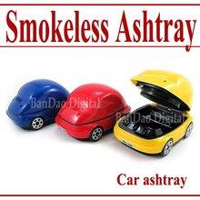 Car USB smokeless ashtray new air Purifier  - Free shipping(China (Mainland))