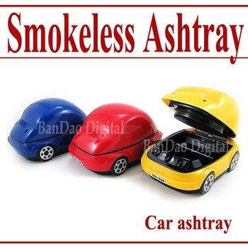 Car USB smokeless ashtray new air Purifier  - Free shipping