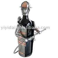 metal craft wine rack model