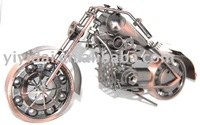 metal art decorative figurines  motorcycle model